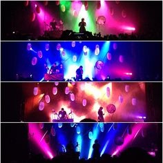 Purity Ring concert stage design.