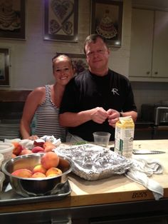 4R Operating Partner Jeff and his wonderful wife Meredith...behind the scenes from JBH #jbfa #jbh #jbf #dining #restaurant #jamesbeard #jamesbeardhouse #florida #nyc #orlandodining #bbq #4r #4rivers