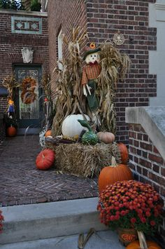 Fall Outdoor Decoration Ideas