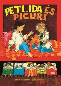 Könyv: Peti, Ida és Picuri (Grethe Fagerström - Gunilla Hansson) Childhood Memories, Comic Books, Family Guy, Baseball Cards, Humor, Comics, Pets, Cover, Fictional Characters
