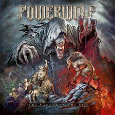 "Cover artwork I made for the upcoming POWERWOLF album ""The Sacrament of Sin"" enjoy The Beast, Rock Indé, Rock Art, Hard Rock, Power Metal, Rock Poster, Arch Enemy, Metal Albums, Thrash Metal"