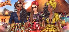 Fashion Arena Popular Girl, Fashion Games, Supermodels, Africa, Princess Zelda, Lady, How To Wear, Events, Accessories