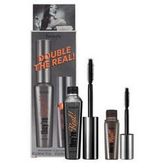 They're real! Mascara Booster set