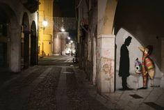 Kennyrandom e Tony Gallo, la street-art risponde con il dialogo alla tragedia di Parigi - Cronaca - Il Mattino di Padova