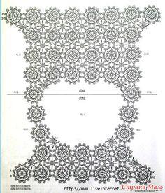.  Openwork áo của họa tiết hoa.