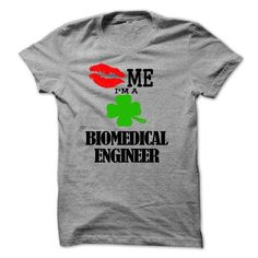 kiss me i am a BIOMEDICAL ENGINEER - #ringer tee #sleeve tee. PURCHASE NOW => https://www.sunfrog.com/LifeStyle/kiss-me-i-am-a-BIOMEDICAL-ENGINEER.html?68278