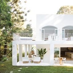 Exterior Design, Interior And Exterior, Outdoor Spaces, Outdoor Living, Architecture Design, Home Design Plans, Home And Deco, House Goals, Sweet Home