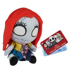 Nightmare Before Christmas Mopeez Sally Plush Figure