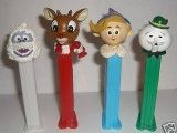 IslandofMisfitToys.tv - Toy Gallery - Custom Rudolph Pez Candy Dispensers