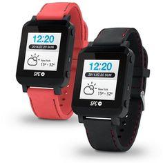 """Smartee Watch SPC 9600N, reloj tactil 1.55"""" con Android  y Bluetooth con 2 correas intercambiables #fitness #health #sports"""