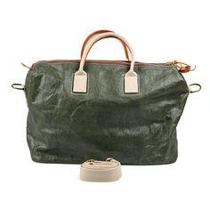 Weekender - Roma Bag in dunkel grün besonders strapazierfähig Uashmama | Gefunden auf #KONTOR1710