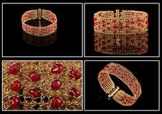 The Love Bracelet- Rubi crochet 14K gold filled wire. ₪675.00, via Etsy from StavHoffmanJewelry.