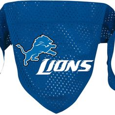 Detroit Lions NFL Licensed Dog Bandana