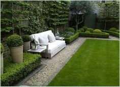 Outdoor garden seating area: At a time when modern homes are measured in dozens of squares, to have a yard in the urban environment as a part of your home is a luxury. The yard means garden design Outdoor garden seating area Backyard Garden Design, Small Garden Design, Patio Design, Backyard Landscaping, Landscaping Ideas, Courtyard Design, Backyard Designs, Patio Ideas, Courtyard Ideas