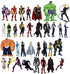 I am a Marvel Fan also by EricTheWhitelion on DeviantArt Dc Comics Vs Marvel, Arte Dc Comics, Marvel Heroes, Avengers Cartoon, Avengers Art, Comic Book Characters, Comic Character, Avengers Earth's Mightiest Heroes, Superhero Design