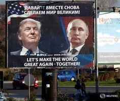 Nach Angela Merkel, welcher Trump nun ganz entgegen seiner bisherigen Meinung versprach die NATO auf das 21. Jahrhundert einzustimmen, sprach Trump ebenfalls von seinem Schreibtisch im Oval Office aus mit dem russischen Präsidenten Wladimir Putin.
