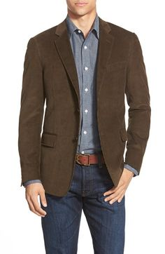 Todd Snyder White Label Trim Fit Corduroy Cotton Sport Coat available at #Nordstrom