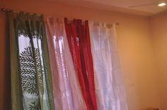 Applique curtains