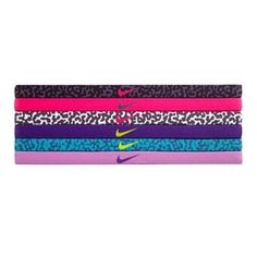 These Nike headbands wick away moisture to keep the sweat from hitting your face. Nike Headbands, Athletic Headbands, Sports Headbands, New Nike Shoes, Nike Free Shoes, Nike Shoes Outlet, Soccer Outfits, Nike Outfits, Nike Under Armour