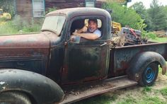 Straight Outta The Barn: 1937 Chevrolet Pickup - http://barnfinds.com/straight-outta-the-barn-1937-chevrolet-pickup/