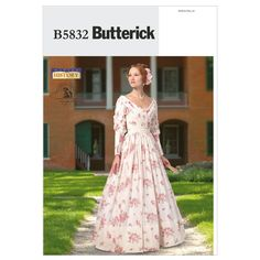 Mccall Pattern B5832 14-16-18-2-Butterick Pattern