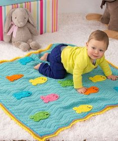 [Free Patterns] 10 Amazing Crochet Blankets for Babies & Kids  Crochet baby blanket patterns   #freepattern #crochet #babyblanket #crochetbaby