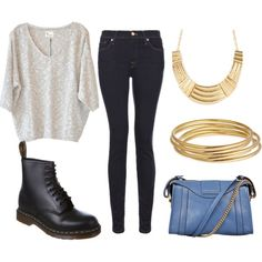 """punk v. glam"" by thenamesmadi on Polyvore"