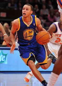 Steph Curry - my favorite NBA player not named LeBron.