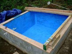 Building An Underground Cistern - http://www.ecosnippets.com/diy/building-an-underground-cistern/