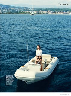 Tamara Weijenberg wears yacht style for Naomi Yang in Tatler UK January 2015