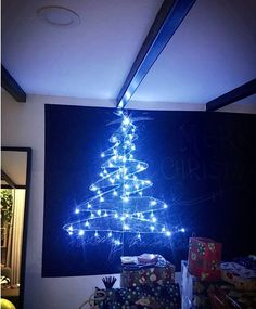 My Girlfriend and i made a chalkboard christmas above our kitchen table Check out the full project http://ift.tt/2h4Wg00 Don't Forget to Like Comment and Share! - http://ift.tt/1HQJd81