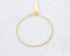 Dainty gold bracelet Delicate Gold Chain Layered gold filled