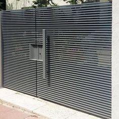 Simple Main Gate Design, Simple Gate Designs, Iron Main Gate Design, Gate Wall Design, Gate Designs Modern, House Main Gates Design, Steel Gate Design, Front Gate Design, Garage Door Design