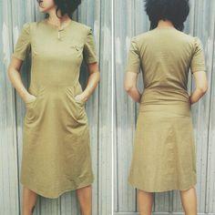 80s cotton vintage dress €22,00 size S #dress #80s #80sdress #vintagedress #cotton #sailor #modcloth #vintageclothes