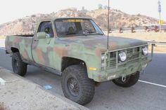 1986 Chevy CUCV M1008
