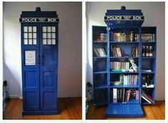 I so have to have this. Reprinted from TARDIS bookcase @Tamara Walker Camera Photography & Blog