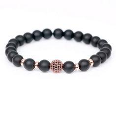 2016 New Fashion High Quality DIY Health Bianshi Stone Beads Bracelet  Trendy CZ Braiding Brand Macrame 9846a1858414