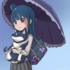 Love Live, My Love, Anime Blue Hair, Kawaii Chibi, Anime Girl Cute, Art Of Living, Anonymous, Idol, Live Art