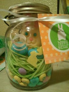 another Pinterest idea come to life! Find it on my Easter board.