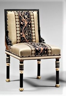 Sir Lawrence Alma Tadema Greco Pompeian Style Chair 1860s Chair Accent Chairs Furniture