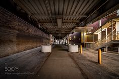 Under the Tracks by KevinDrewDavis #architecture #building #architexture #city #buildings #skyscraper #urban #design #minimal #cities #town #street #art #arts #architecturelovers #abstract #photooftheday #amazing #picoftheday