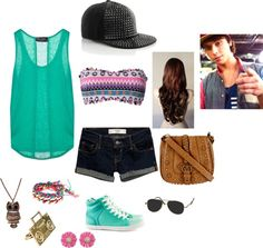 """""""Wesley Teaching You How To Skateboard Outfit"""" by oliviadawn630 on Polyvore"""