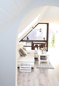Dachgeschosswohnung Einrichten Ideen