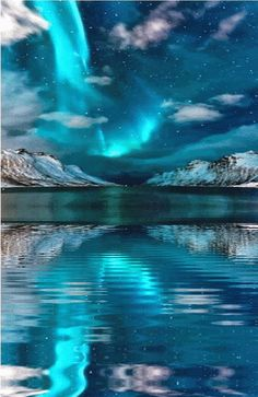 Awesome aurora borealis You are in the right place about Aurora borealis northern lights videos Here we offer you the most beautiful pictures about the Aurora borealis northern lights trips you are lo Beautiful Sky, Beautiful Landscapes, Beautiful World, Stunningly Beautiful, Colorful Pictures, Nature Pictures, Pretty Pictures, Gif Pictures, Nature Gif