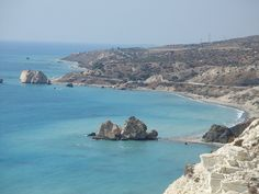 Petra tou Romiou [The Rock of Romiou] - Aphrodite's Birthplace - Paphos, Cyprus Places Ive Been, Places To Visit, Turkey Country, Ayia Napa, Paphos, Aphrodite, Cyprus, Far Away, San Diego