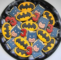 Cute Batman Platter by SweetSugarBelle, via Flickr