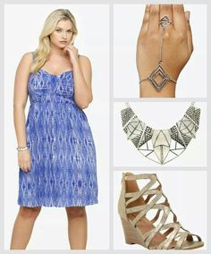 Torrid  love this for the beach