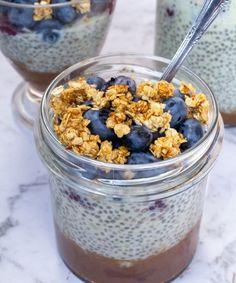 Pavlova, Acai Bowl, Cereal, Oatmeal, Breakfast, Pudding Chia, Food, Acai Berry Bowl, The Oatmeal