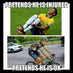Fitness Humor #20: Footballer vs Cyclist Humor