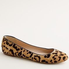 J Crew Leopard flats. Seriously, My Christmas list is getting a little too long!